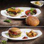 Набор из 2 тарелок для бургера 36x25,5x4 см BBQ Passion Villeroy & Boch