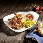 Набор из 2 тарелок для стейка M 24x22 см BBQ Passion Villeroy & Boch