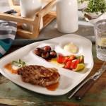 Набір з 2 тарілок для стейків L 30x29 см BBQ Passion Villeroy & Boch