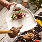 Набор из 2 тарелок для стейков L 30x29 см BBQ Passion Villeroy & Boch