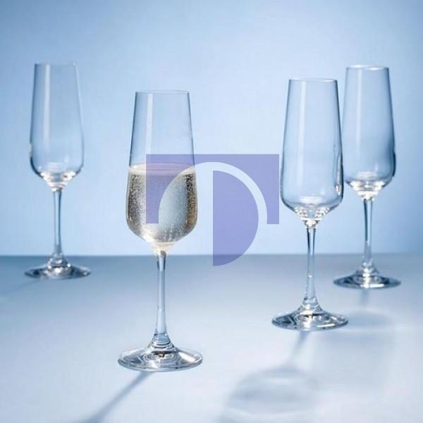 Набор из 4 бокалов для шампанского 0,25 л Ovid Villeroy & Boch