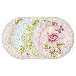 Набор из 4 тарелок для завтрака Rose Cottage Villeroy & Boch