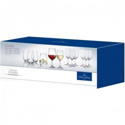 Акция! Набор из 8 бокалов и 4 стаканов Entree Villeroy & Boch