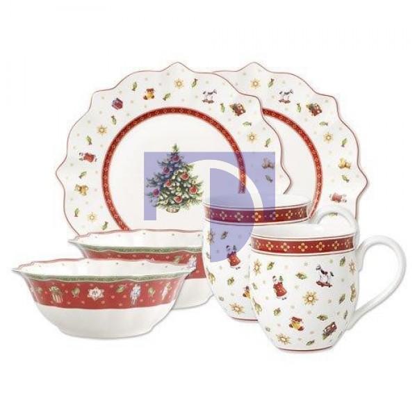 Набор посуды для завтрака белый на 2 персоны Toy's Delight Villeroy & Boch