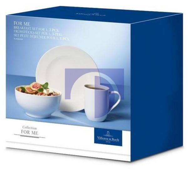 Набор посуды для завтрака на 1 персону For Me Villeroy & Boch