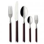 Набор столовых приборов 30 предметов Play chocolate brown Villeroy & Boch