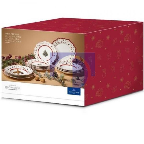 Набор тарелок на 4 персоны 12 предметов Toys Delight Villeroy & Boch