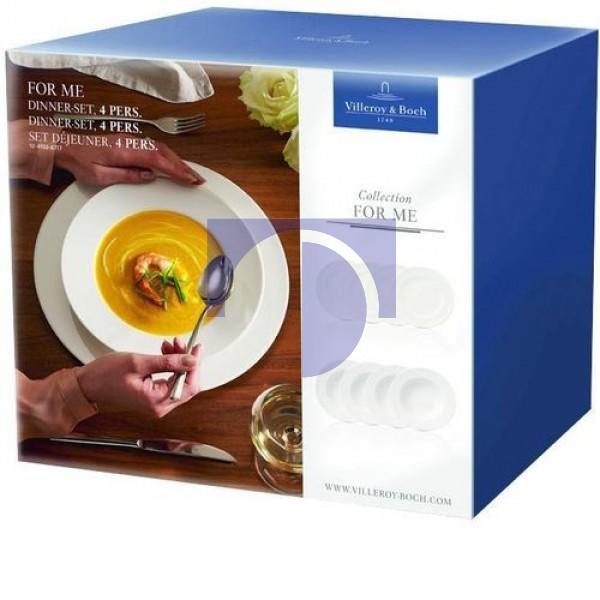 Набор тарелок на 4 персоны For Me Villeroy & Boch
