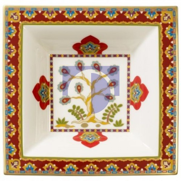 Пиала квадратная 14x14 см Samarkand Rubin Villeroy & Boch