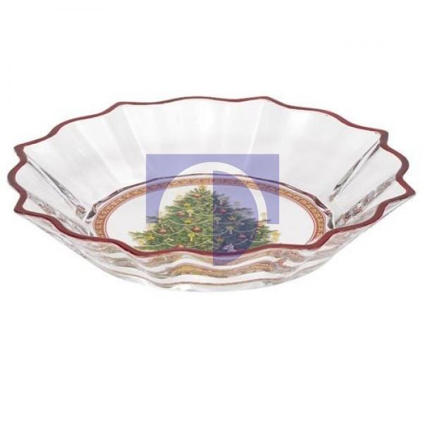 Пиала Рождественская елка хрусталь 25 см Christmas Glass Accessories Villeroy & Boch