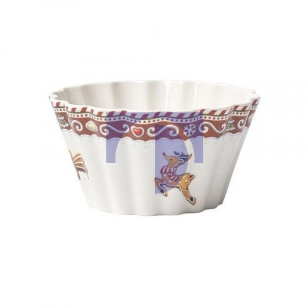 Пиала в форме кекса 7x5 см, 0,63 л Winter Bakery Delight Villeroy & Boch