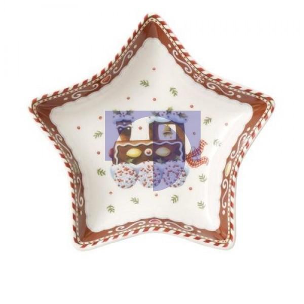 Пиала – звезда мотив Поезд 13 см Winter Bakery Delight Villeroy & Boch