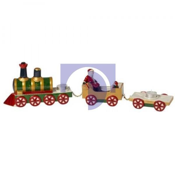 Подсвечник на 3 свечи Полярный экспресс 55x8x15 см Christmas Toys Memory Villeroy & Boch
