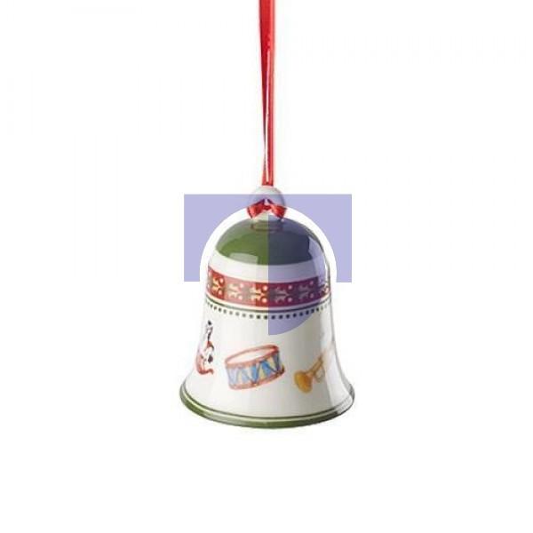 Подвеска колокольчик Игрушки 7 см My Christmas Tree Villeroy & Boch