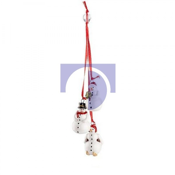 Подвеска Трио Снеговики My Christmas Tree Villeroy & Boch