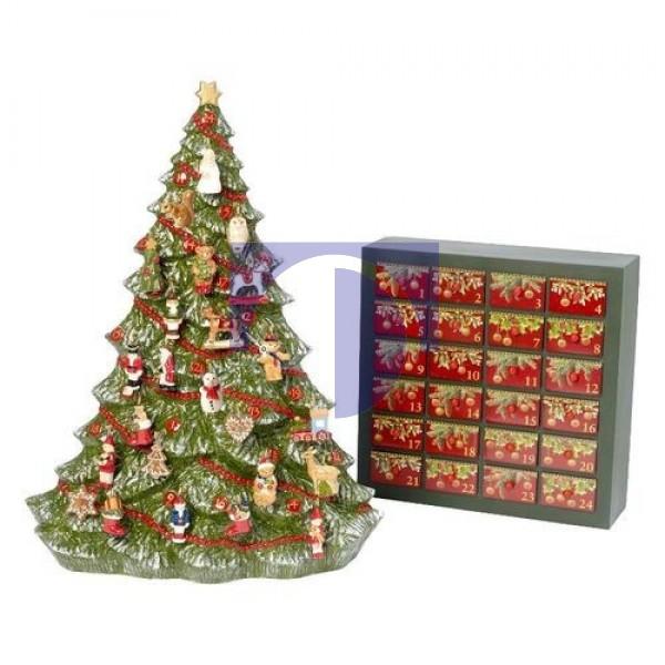 Рождественский календарь Елочка: каркас и 24 украшения Christmas Toys Memory Villeroy & Boch
