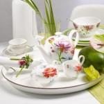 Сахарница, мармеладница на 6 персон 0,35 л Anmut Flowers Villeroy & Boch