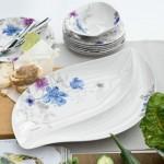 Сервировочная тарелка 50x30 см Mariefleur Gris Serve & Salad Villeroy & Boch