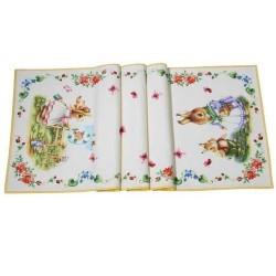 Столовая дорожка Кролики 50x150 см Spring Fantasy Villeroy & Boch
