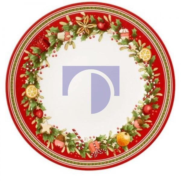Тарелка столовая 27 см Winter Bakery Delight Villeroy & Boch