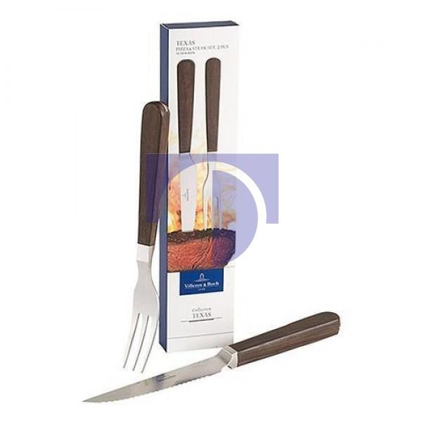 Столовые приборы для стейков, пиццы набор из 2 предметов Texas Villeroy & Boch