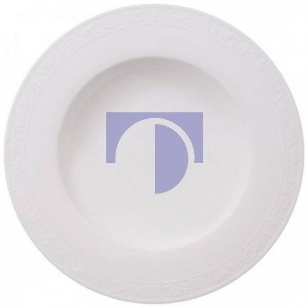Суповая тарелка 24 см White Pearl Villeroy & Boch