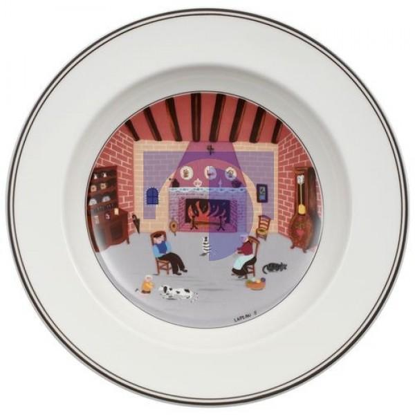 Суповая тарелка Камин 21 см Design Naif Villeroy & Boch