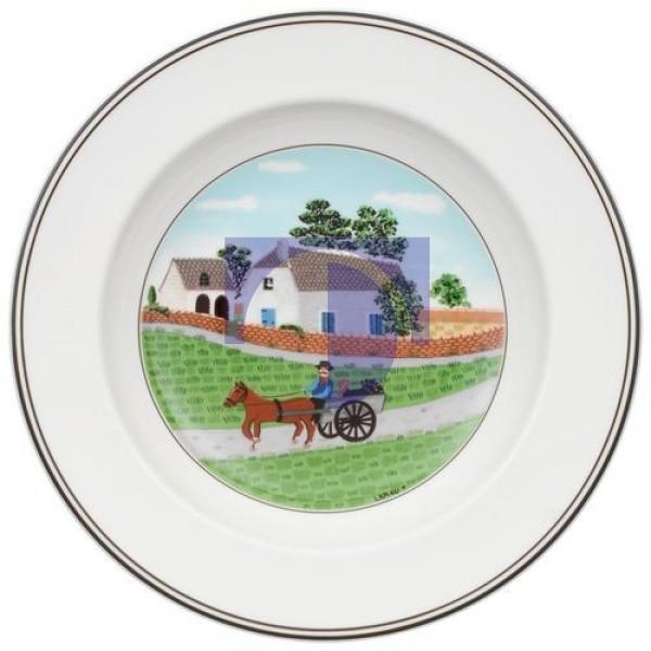 Суповая тарелка Крестьянин 21 см Design Naif Villeroy & Boch