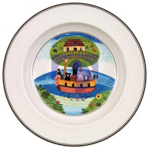 Суповая тарелка Ноев ковчег 21 см Design Naif Villeroy & Boch