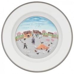 Суповая тарелка Птичий двор 21 см Design Naif Villeroy & Boch