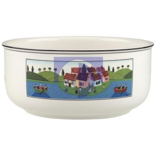Тарелка десертная глубокая круглая 20 см Design Naif Villeroy & Boch