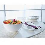 Тарелка десертная глубокая круглая 25 см Flow Villeroy & Boch