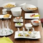 Тарелка десертная глубокая, супница маленькая 3,0 л New Wave Villeroy & Boch