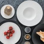 Тарелка для пасты 29 см Manufacture Rock blanc Villeroy & Boch