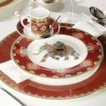 Тарелка для завтрака 22 см Samarkand Rubin Villeroy & Boch