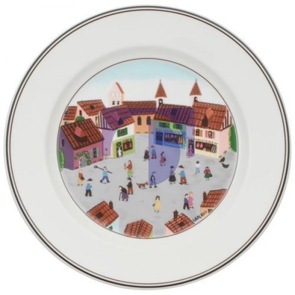 Тарелка для завтрака Деревня 21 см Design Naif Villeroy & Boch