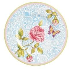 Тарелка для завтрака голубая 22 см Rose Cottage Villeroy & Boch
