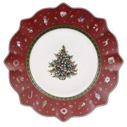 Тарелка для завтрака красная 24 см Toy's Delight Villeroy & Boch