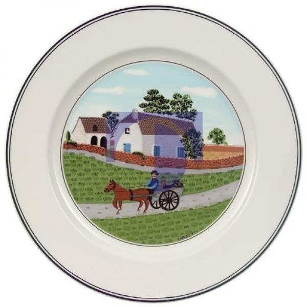 Тарелка для завтрака Крестьянин 21 см Design Naif Villeroy & Boch