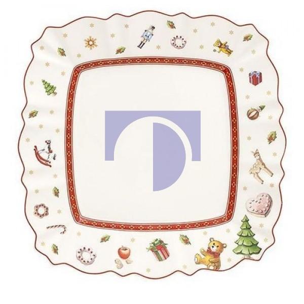Тарелка для завтрака квадратная 22 см Toy's Delight Villeroy & Boch