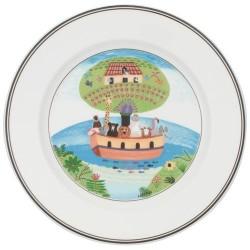 Тарелка для завтрака Ноев ковчег 21 см Design Naif Villeroy & Boch