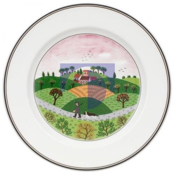 Тарелка для завтрака Охотник 21 см Design Naif Villeroy & Boch