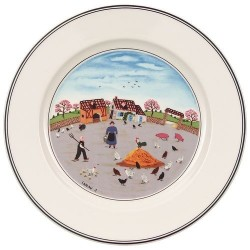 Тарелка для завтрака Птичий двор 21 см Design Naif Villeroy & Boch