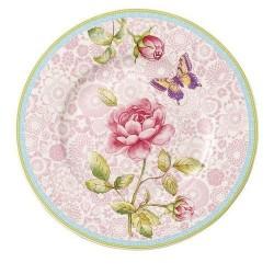 Тарелка для завтрака розовая 22 см Rose Cottage Villeroy & Boch