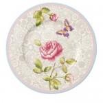 Тарелка для завтрака серая 22 см Rose Cottage Villeroy & Boch