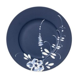 Тарелка для завтрака синяя 22 см Old Luxemburg Brindille Villeroy & Boch