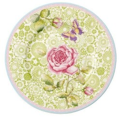 Тарелка для завтрака зеленая 22 см Rose Cottage Villeroy & Boch