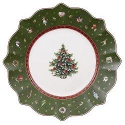 Тарелка для завтрака зеленая 24 см Toy's Delight Villeroy & Boch