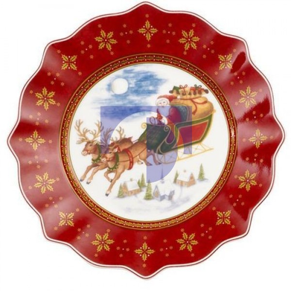 Тарелка года 2018 24 cm Annual Christmas Edition 2018 Villeroy & Boch
