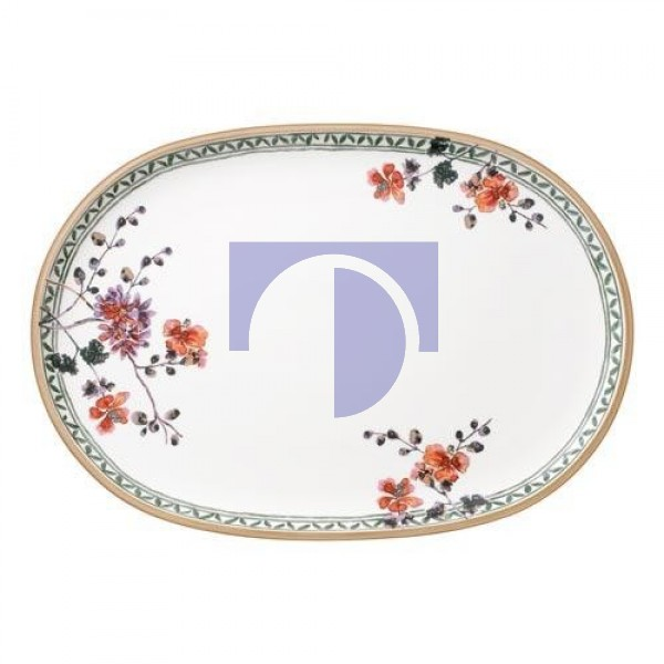 Тарелка овальная для рыбы 43x30 см Artesano Provencal Verdure Villeroy & Boch